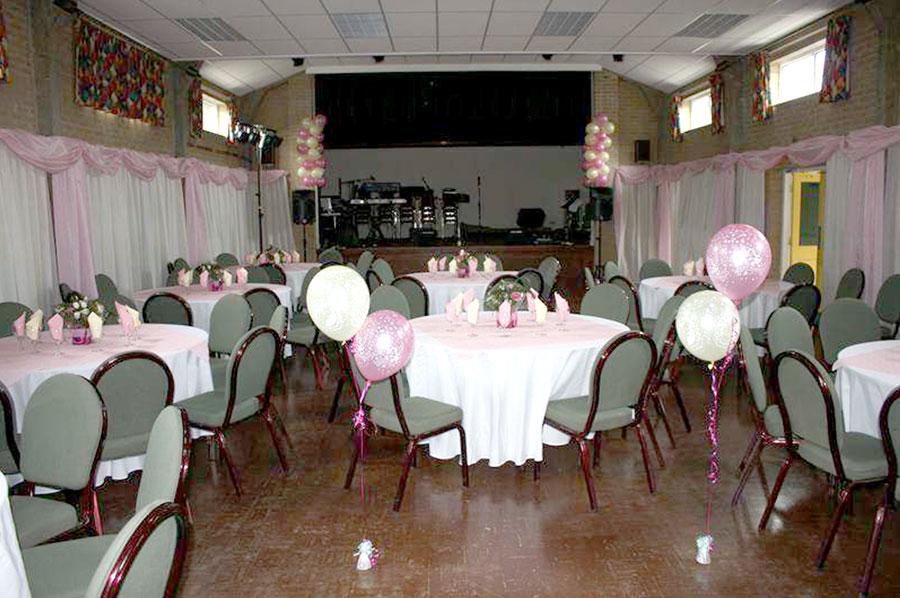 Book your function online at Neston Memorial Hall