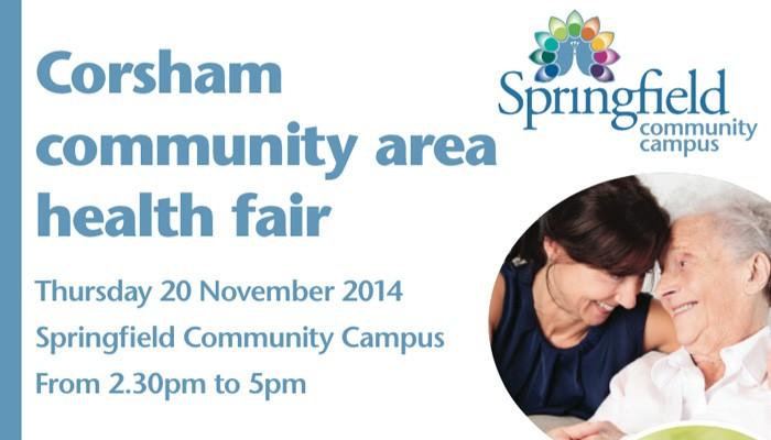 Corsham Health Fair and Area Board Health Fair