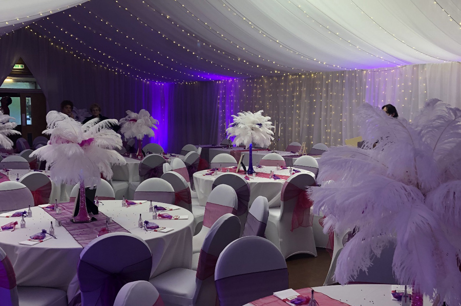 Neston Memorial Hall wedding reception